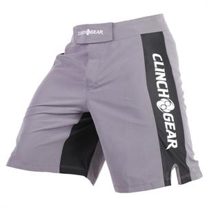 Clinch Gear Pro Series Shorts - Pewter/Black/White